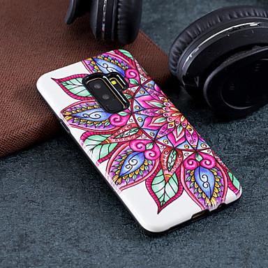 Etui Til Samsung Galaxy S9 / S9 Plus / S8 Plus Mønster Bakdeksel Blomsternål i krystall Hard PC