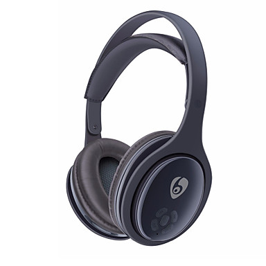 XL555 Over-øret hodetelefon Trådløs Reise og underholdning V4.0 Med mikrofon Med volumkontroll comfy