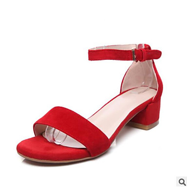 Mujer Zapatos Cuero de Napa Verano Talón Descubierto Sandalias Tacón Bajo Dedo redondo Negro / Almendra Footaction Pas Cher En Ligne Dernières Collections En Ligne sj7JcoNk5