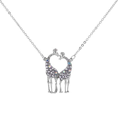 povoljno Modne ogrlice-Ogrlice s privjeskom Više slojeva Majka kći Jelen dame Vjenčanje Europska Više slojeva Metal Legura Obala 50 cm Ogrlice Jewelry Za Party Zabava / večer Dar