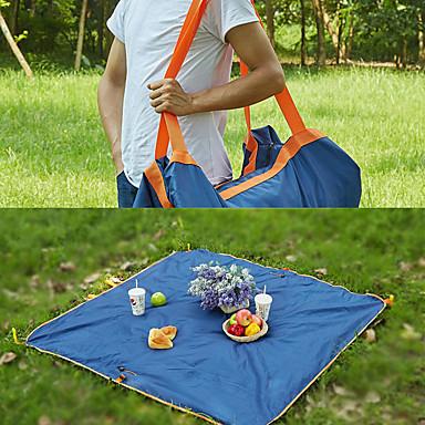 cheap Sleeping Bags & Camp Bedding-Travel Bag Picnic Bag Picnic Blanket Outdoor Multifunctional Waterproof Moistureproof Multi-function Oxford cloth Beach Camping Traveling All Seasons Dark Navy