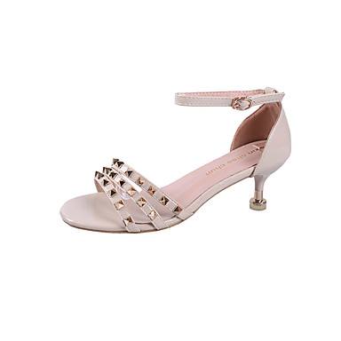 Γυναικεία Παπούτσια PU Καλοκαίρι Ανατομικό Σανδάλια Γατίσιο Τακούνι Καρφιά  Μπεζ   Αμύγδαλο 6669358 2019 –  22.99 375cfb2720e
