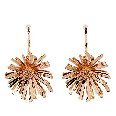 povoljno Modne naušnice-Viseće naušnice Cvijet Tratinčica dame Moda Ogroman Naušnice Jewelry Zlato / Pink Za Dar Dnevno