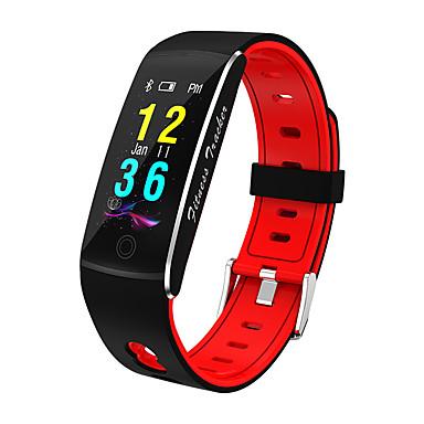 f10 έξυπνο ρολόι bt 4.0 υποστήριξη παρακολούθησης γυμναστικής ειδοποίηση & αθλητικό tracker αδιάβροχο wristband για samsung / huawei / iphone
