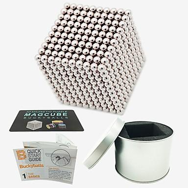 1000 pcs Magnetiske leker Magnetiske kuler Magnetiske leker Byggeklosser Supersterke neodyme magneter Neodym-magnet Magnetisk Stress og angst relief Office Desk Leker Lindrer ADD, ADHD, angst, autisme