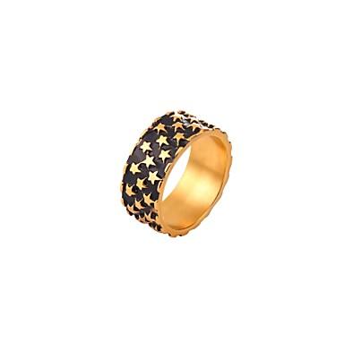levne Pánské šperky-Pánské Dámské Boxer Zlatá Stříbrná Nerez Geometric Shape Módní Denní Šperky Geometrické