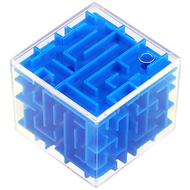 cheap Maze & Sequential Puzzles-Magic Cube 3D Maze Puzzle Box Magic Labyrinth IQ Test Brain Teaser ABS Plastic Kid's Adults' Boys' Girls' Toy Gift 1 pcs
