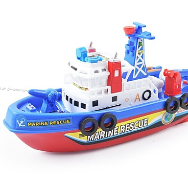 cheap Diecasts & Toy Vehicles-Toy Boat Boat Nautical Water Spray Plastic Shell Gift 1 pcs