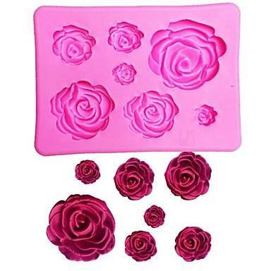 1pc Silikongel 3D Valentinsdag Til Kake Cake Moulds Bakeware verktøy