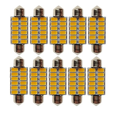 SENCART T10 Bil Elpærer 6W SMD 5730 360lm 12 LED Light Bulbs interiør Lights For Universell Alle år