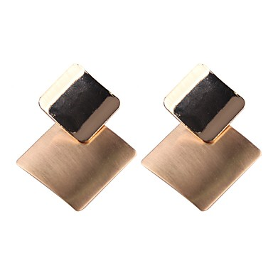 Stud Earrings Drop Simple Vintage Cool Gold For Party Formal Office Career 6664631 2018 8 99