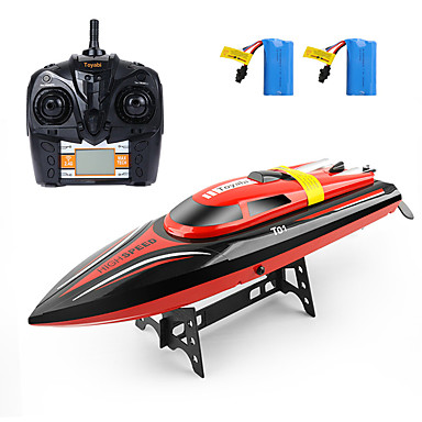 preiswerte RC Boote-RC Boot H101 Kunststoff 4 pcs Kanäle 30 km/h KM / H