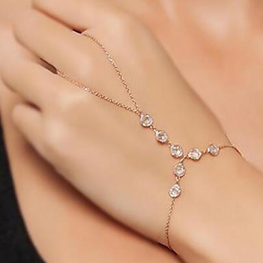 levne Dámské šperky-Dámské Náramky Plavání Otroci zlata dámy Vintage Módní Kov Náramek šperky Zlatá Pro Rande Street