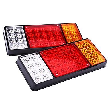 billige Baklys til bil-2pcs Wire-tilkobling Bil Elpærer 10 W Integrert LED 250 lm 36 LED Baklys Til Universell Alle Modeller Alle år