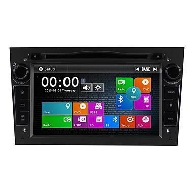 levne Auto Elektronika-Factory OEM 7 inch 2 Din Windows CE 6.0 Zabudovaný Bluetooth / GPS / RDS pro Opel Podpěra, podpora / Dotykový displej / SD / USB podpora