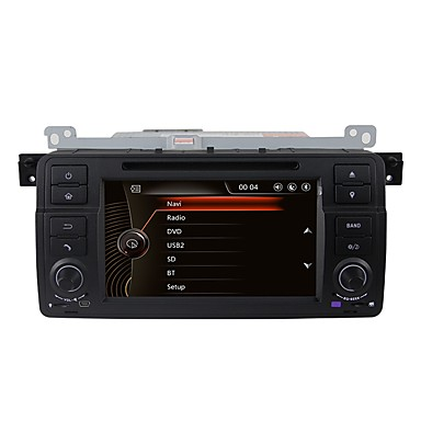 levne Auto Elektronika-Factory OEM 7 inch 1 Din Windows CE 6.0 Zabudovaný Bluetooth / GPS / RDS pro BMW Podpěra, podpora / Dotykový displej / SD / USB podpora