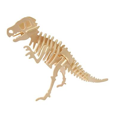 levne 3D puzzle-3D puzzle / Dřevěné puzzle Jurský dinosauř Dřevěný 1pcs Dětské Vše Dárek