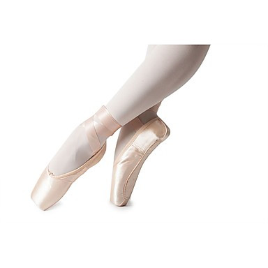 billige Utvalgte tilbud-Jente Dansesko Silke Ballettsko Sløyfe Flate Flat hæl Kan spesialtilpasses Rosa / Innendørs / Trening / EU38