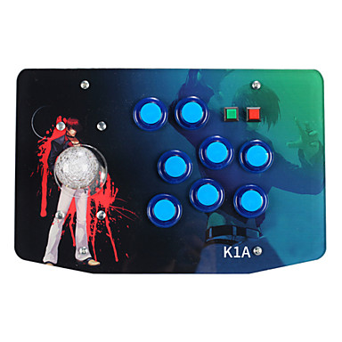 preiswerte PC Spiele Zubehör-K1A Mit Kabel Joystick Für Sony PS3 / PC . Joystick ABS 1 pcs Einheit