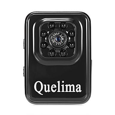 billige Bil Elektronikk-Quelima R3 1080p Mini / Nattsyn / Dual Lens Bil DVR 120 grader Bred vinkel CMOS Dash Cam med G-Sensor / Loop-opptak 8 infrarøde LED