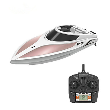 preiswerte RC Boote-RC Boot H102 Kunststoff 4 pcs Kanäle 28 km/h KM / H