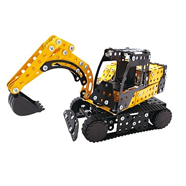 cheap Building Blocks-YIJIATOYS Building Blocks Educational Toy Construction Set Toys 359 pcs Holiday Vehicles Fashion Car Family compatible Legoing Construction Truck Set Dozer Excavator All Boys' Girls' Toy Gift / Kid's