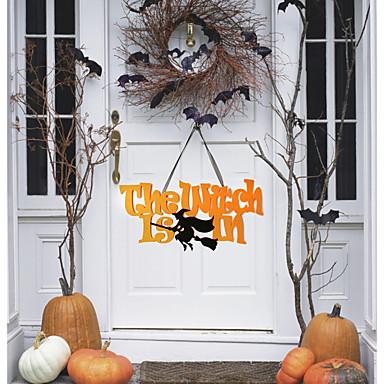 levne Party doplňky-Halloween Netkaná textilie / Netkané textilie Svatební dekorace domky Zima
