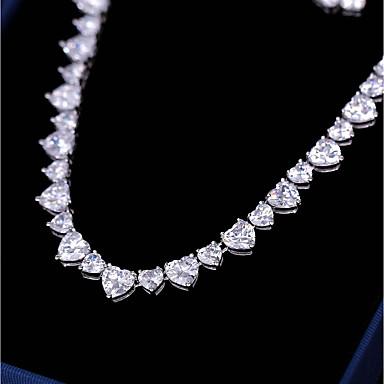 5a0752e5ecf0 Γυναικεία Cubic Zirconia Κοσμήματα Σετ Καρδιά Απλός