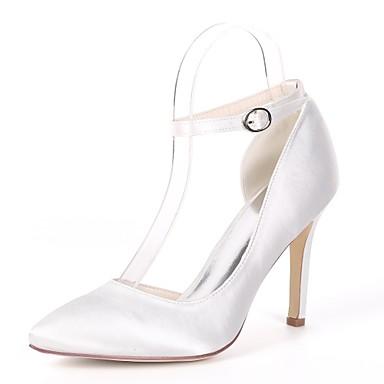 Verano De Primavera Básica Bomba Zapatos Mujer amp; Satinado w07qdnAxp