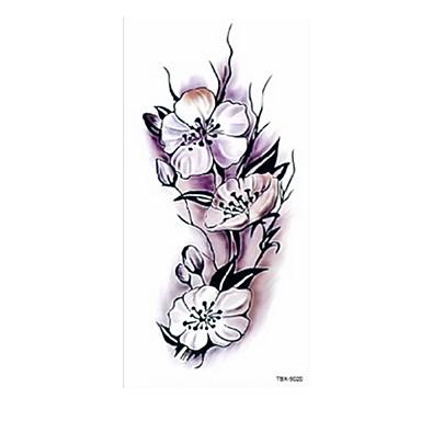 5 pcs Tatoveringsklistremerker midlertidige Tatoveringer Blomster Serier / Romantisk serie kropps~~POS=TRUNC Krop / skulder / Bein