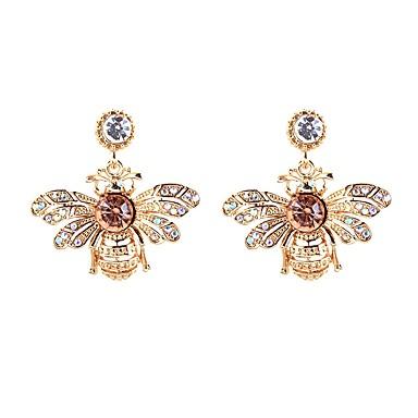 povoljno Modne naušnice-Viseće naušnice Pčela dame Moda Naušnice Jewelry Zlato Za Dar Dnevno