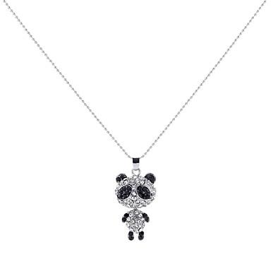povoljno Modne ogrlice-Ogrlice s privjeskom Panda Sa životinjama dame Crtići Vjenčanje slatko Legura Obala 80 cm Ogrlice Jewelry Za Rođendan Svečanost