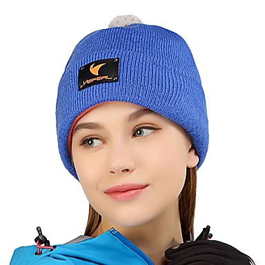 e9400a701b752 VEPEAL Hiking Cap Skull Cap Beanie Keep Warm Stretchy Winter Rose Red  Women's Ski / Snowboard Hiking Traveling Solid Colored Adults' 6705591 2019  – $19.99