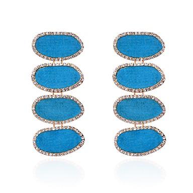 povoljno Modne naušnice-Žene Kubični Zirconia Viseće naušnice dame Bikini Naušnice Jewelry Jasen / Crvena / Plava Za Svečanost Karneval 1 par