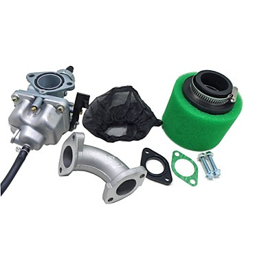 cheap Fuel Systems-CG125 Carb Carburetor 38mm Air Filter Cover Manifold Intake Inlet Set For 110cc 125cc Dirt Pit Bike ATV
