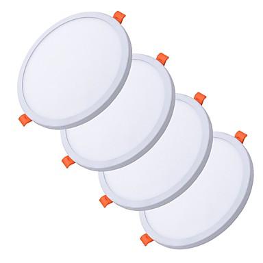 ZDM® 4stk 6 W 30 LED perler Lett installasjon Nedfellt Nytt Design Panellys Led-Nedlys Varm hvit Kjølig hvit 85-265 V Kommersiell Hjem / kontor