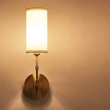 Kul Vintage Vegglamper Stue / Soverom Metall Vegglampe 220-240V 40 W