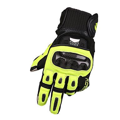 billige Motorsykkel & ATV tilbehør-MOTOBOY Full Finger Unisex Motorsykkel hansker Karbonfiber / Svamp / poly uretan Berøringsskjerm / Pustende / Slitasje-sikker
