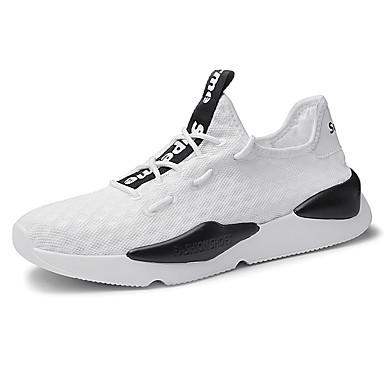 7b32abf92dd Ανδρικά Παπούτσια άνεσης Δίχτυ / Ελαστικό ύφασμα Φθινόπωρο Αθλητικά  Παπούτσια Τρέξιμο Συνδυασμός Χρωμάτων Λευκό / Μαύρο / Αθλητικό 6768829 2019  – $34.99