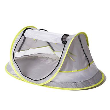 1 person Pop opp telt Utendørs UV-bestandig UPF50+ Myggvern Med enkelt lag camping Tent <1000 mm til Strand Camping / Vandring / Grotte Udforskning Nett Stoff 108*65*50 cm
