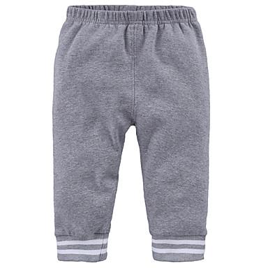 cheap Baby Boys' Bottoms-Baby Boys' Basic Daily Print Print Cotton Pants Black / Toddler