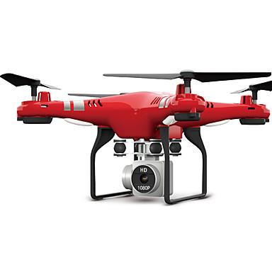 رخيصةأون طائرات تحكم عن بعد-RC طيارة X52HD RTF 10.2 CM 6 محور 2.4G مع كاميراHD 3.0MP 1080P جهاز تحكم FPV / زر واحد للعودة / حالة دون رأس جهاز تحكم / كاميرا / 1 USB كابل / الوصول في الوقت الحقيقي لقطات