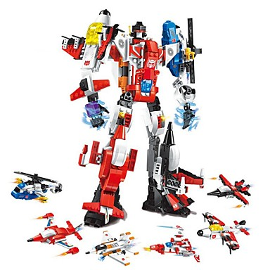 cheap Building Blocks-Building Blocks Educational Toy Construction Set Toys 506 pcs Helicopter Robot Airplane compatible A Grade ABS Plastic Legoing Transformable Boys' Girls' Toy Gift / Kid's
