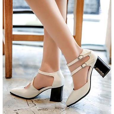 946da649 Mujer PU Primavera verano Confort / Talón Descubierto Zapatos de ...