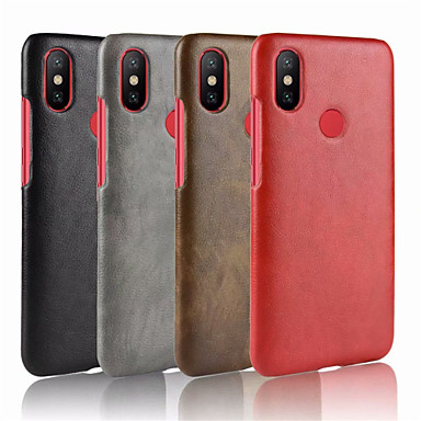 online store 113a8 85482 [$5.99] Case For Xiaomi Xiaomi Redmi S2 Embossed Back Cover Solid Colored  Hard PU Leather