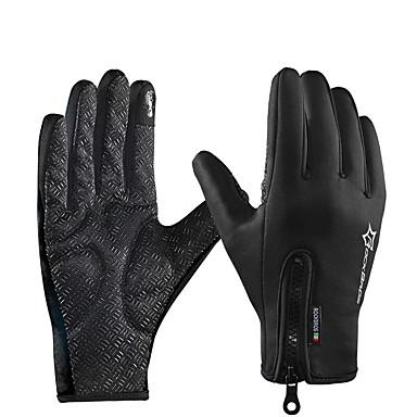 povoljno Motori i quadovi-ROCKBROS Cijeli prst Uniseks Moto rukavice Polyster Touch Screen / Vodootporno / Prozračnost