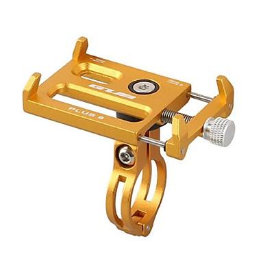 billige Sykkeltilbehør-Telefonstativ til sykkel Bærbar Sykling Justerbare / Uttrekkbar til Vei Sykkel Fjellsykkel Aluminiumslegering iPhone X iPhone XS iPhone XR Sykling Sølv Rød Blå