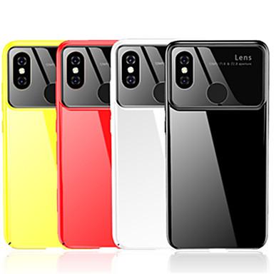 1cd9fe07b02 Funda Para Xiaomi Mi 8 Espejo Funda Trasera Un Color Dura Ordenador