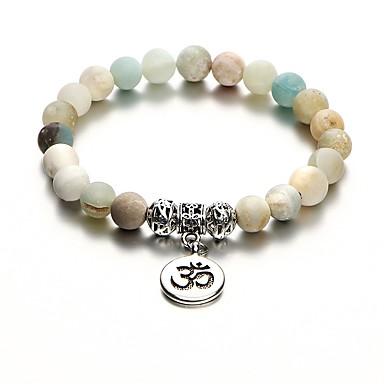 Dame Perlearmbånd damer Stilfull Det gamle Egypt Stein Armbånd Smykker Regnbue Til Daglig Formell