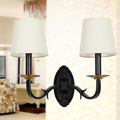 Nytt Design Moderne / Nutidig Vegglamper Soverom / Kontor Metall Vegglampe 220-240V